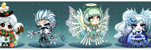 Auction : SNOW THEME BATCH [CLOSED!] by Nuku-Niku