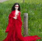 382 Lady In Red  3 by beedoll