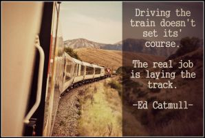 The Train-Track of Life ~ Quote by RMS-OLYMPIC