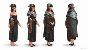 Tribe Full dress 01 by Benlo