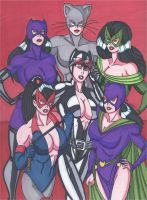 Catwomen by RobertMacQuarrie1