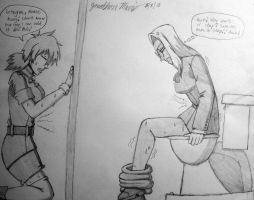 [Request] Hellsing Toliet Troubles by JAM4077