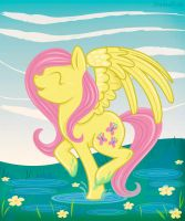 Puddle Prance by ShadowBirds