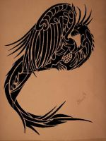 Tribal Art Phoenix 2 by tbp24289
