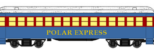 Polar Express Passenger Cars by DanielArkansanEngine