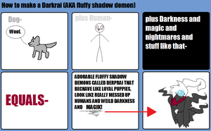 How To Make A Darkrai by Incyray