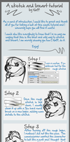 Sketch and Lineart tutorial by Naff-Naff