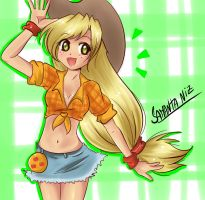 Applejack de My Little Pony by keitenstudio