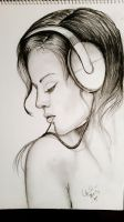 musical sketch of the day by tonez1