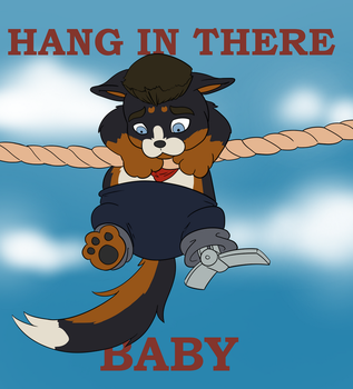 Gift/Comm - Hang in there Chibi! by DrPossibly