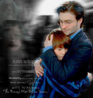Harry and Albus by xDoomxGirx