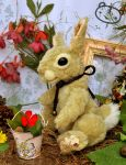 Sweet bunny plush by LisaToms