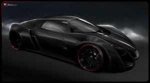 Marussia B2 black by RibaDesign
