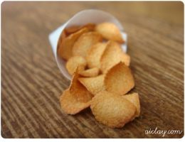 Miniature potato chips by Aiclay