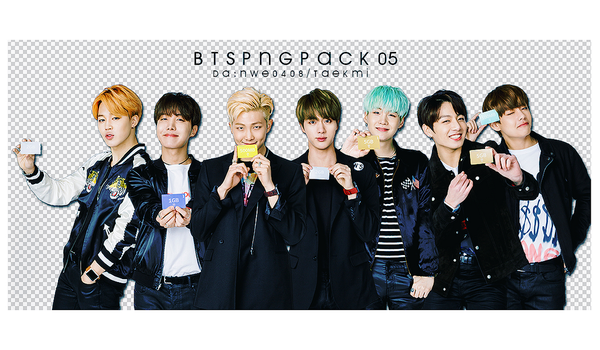 31 / BTS PNG PACK 05 by NWE0408