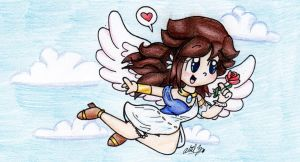 Gift: Kaira the Angel ^^ by BabyAbbieStar