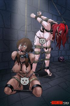Dungeon Dames: Korra and Erza by bdsm-fan-comics
