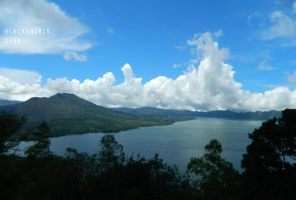 Gunung and Danau Batur by Blackanubis2799