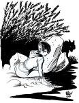 GIRL with WOLF by Wieringo