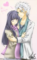 Toushirou and Hinata - for Rae by Lems