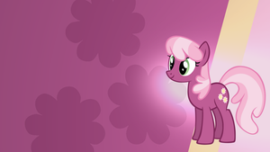 Cheerilee Gradient Wallpaper by RDbrony16