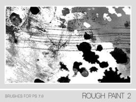 Rough Paint II Brushes PS 7.0 by Pfefferminzchen