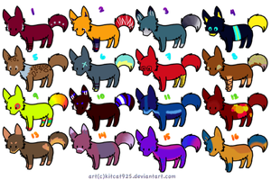 Wolf:Adopts:3 by thestarfruit
