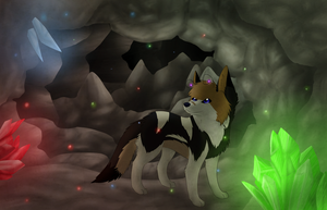 Crystal Caverns -Point Commission- by JamTheFox