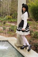 Gothic Lolita-By the Fountain by Raven382