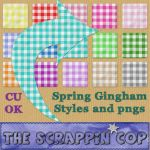 Spring Gingham Layer Styles by debh945