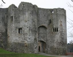 Chepstow Castle 2 - Stock by OghamMoon