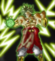 Colorisation Broly de Tomycase by Ruijin54