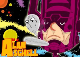 Herald of Galactus by AlanSchell
