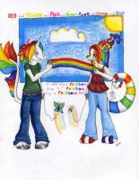 I can sing a rainbow too by AlexKalltheWay