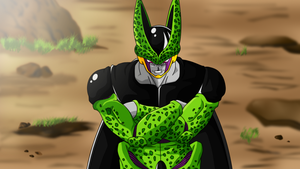 Perfect Cell anger by HayabusaSnake
