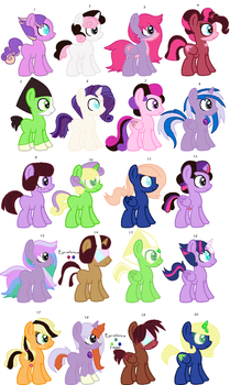 30 point SU x MLP foal adopts closed by NeVerDark1211