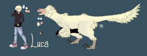 Luca reference sheet by Ukikun