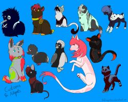 Adopts and Customs for Tigerfelix by Hoffnungsstern