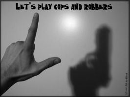 Cops and Robbers by dwdrumsmash