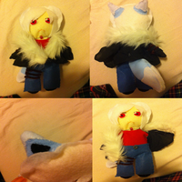 Kage Plushie! :D by Shadow-Rukario