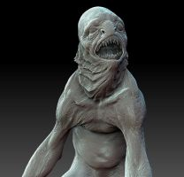 Innsmouth Deep One design. by DaveGrasso