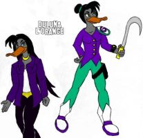 Mighty Ducks: Duluna L'Orange by ToonQueen