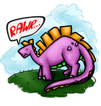 Silly Dino by NevesTis