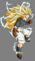 Trunks GT SSJ3 by theothersmen