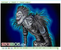 How to Draw Ryuk Part 3 by SketchHeroes