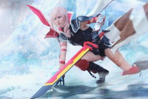 Lightning Cover Cosplay by MadnessGottaBody
