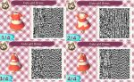 ACNL: Cute girl dress QR codes by MikuHinata