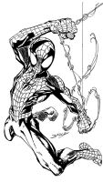 Swinging Bagley Spidey by crstemple