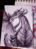 Dragon ink practice by Cotton-Monster