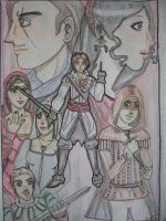 Assassin's Creed- the first generation by iguanablogger